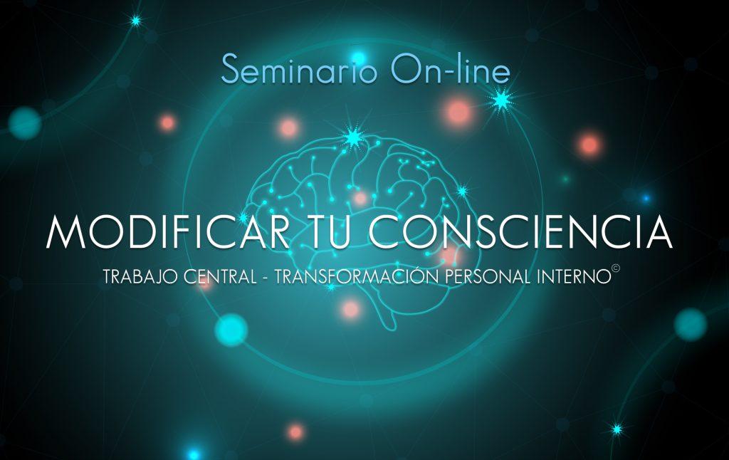 Seminario on-line modificar tu consciencia, impartido por diego moscoso.